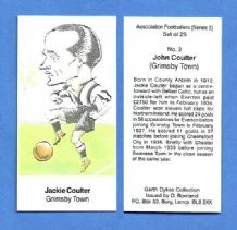 Grimsby Town Jackie Coulter 3